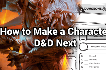 Featured Image for how to build a Dungeons and Dragons Character
