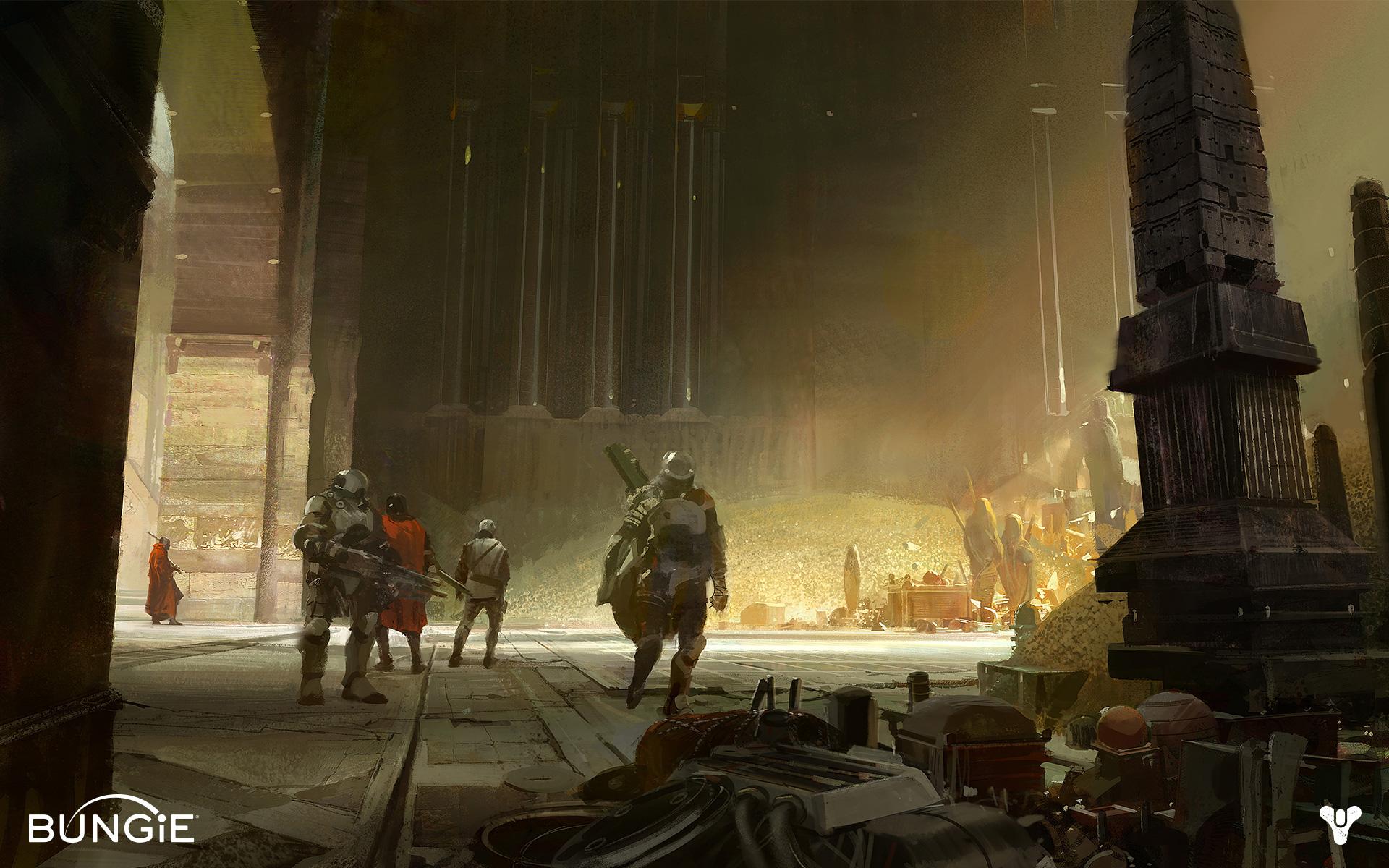 Destiny Fantasy Game Concept Art