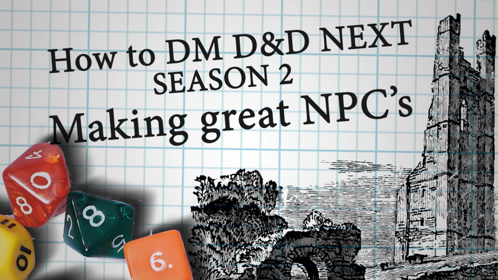 How to dm d&d next