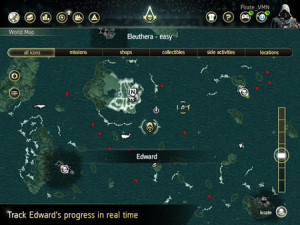 Assassin's Creed 4 Black Flag Map