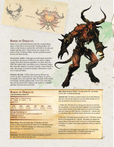 Baron of Darax-us | Custom D&D 5e Monster