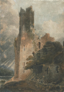 John_Sell_Cotman_-_A_Castle_Tower_(Caernarvon_Castle)_-_Google_Art_Project