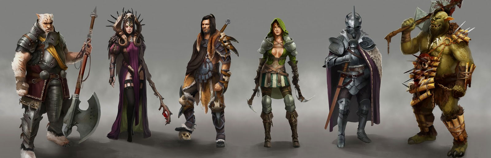 Image of Fantasy Characters