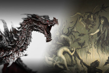 Alduin and Demons