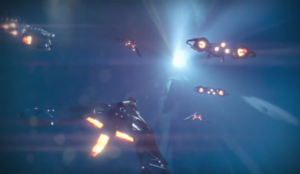 We should be able to customize our ship's faster than light tunnel.